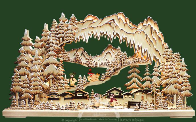 DEL-Schwibbogen Lumières Arc Éclairage de Noël décoration de Noël 52 1572